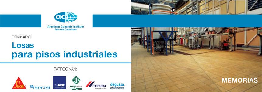 Losas para pisos industriales