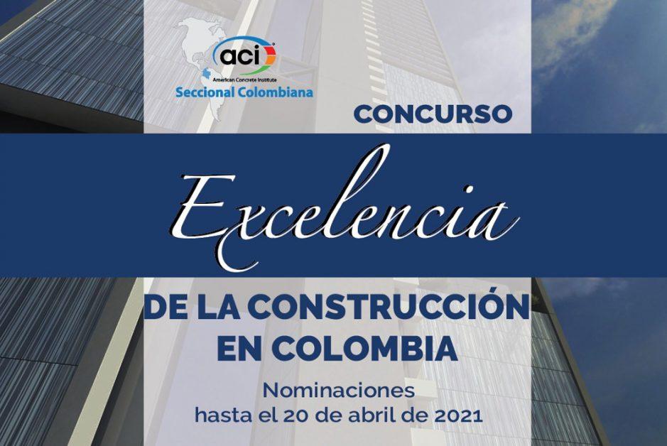 Concurso Excelencia de la Construcción en Colombia