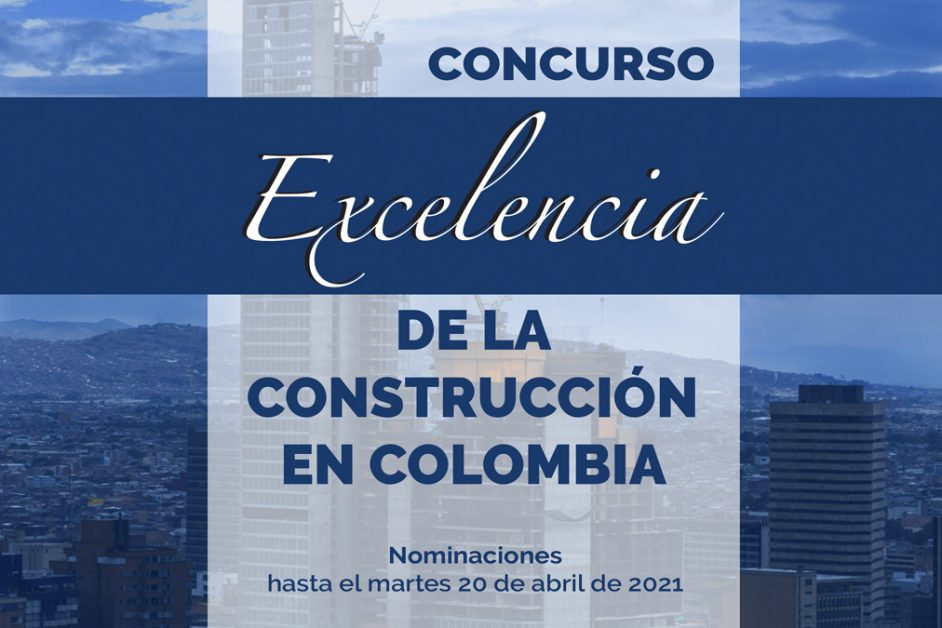 Concurso Excelencia de la contrucción en Colombia